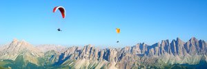paragliding south tyrol
