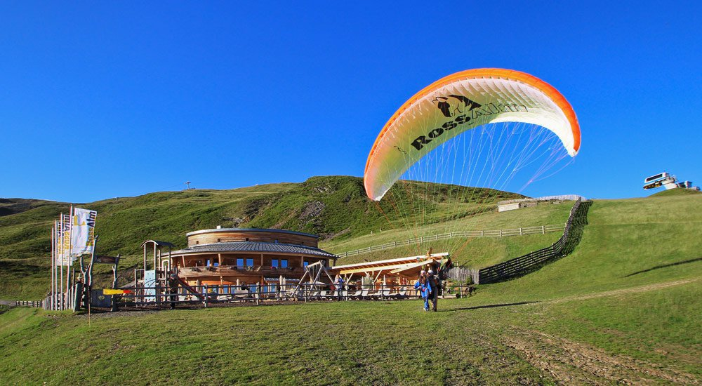 Paragliding in South Tyrol without prior experience