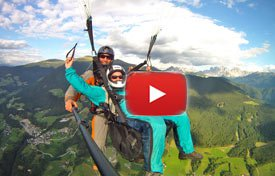 Paragliding Tandem Team Südtirol Video
