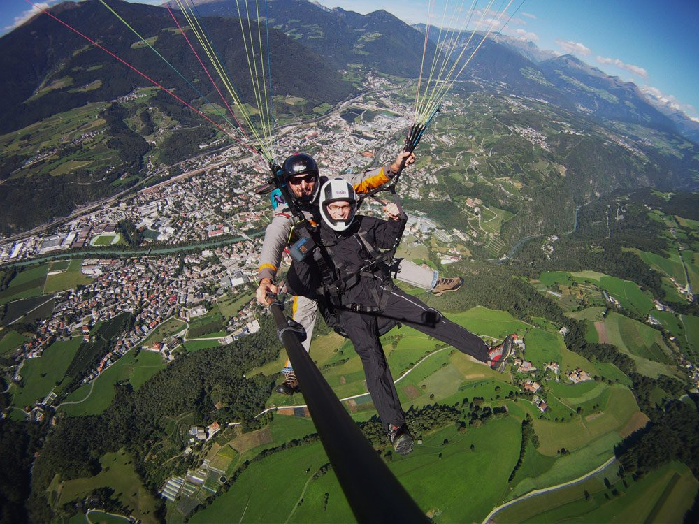 Image Gallery tandem paragliding